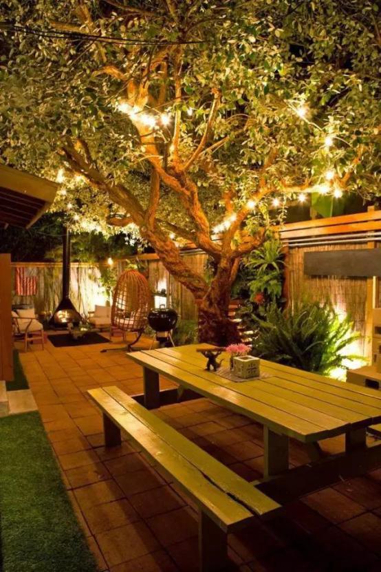 家里有个院子就该是美美哒~